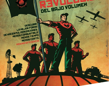 """AgroSpray Gráfica: """"Revolución"""""""
