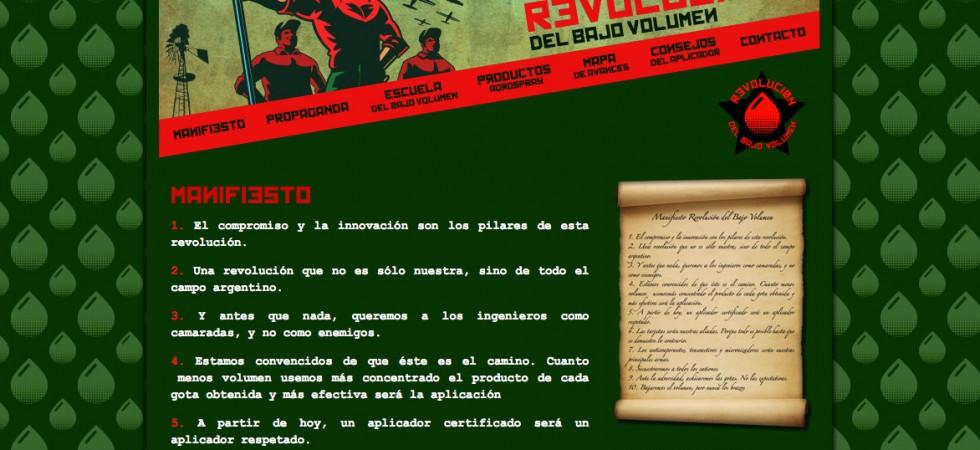 Micrositio: La Revolución